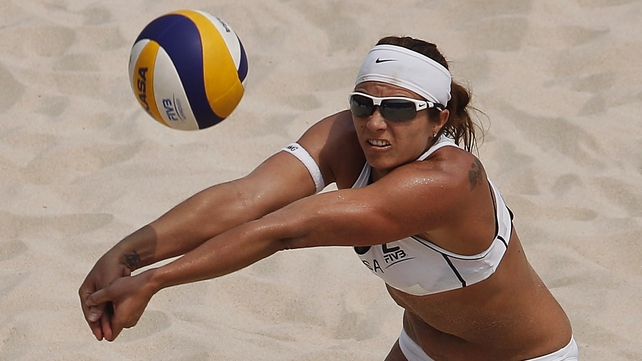 The US's Misty May-Treanor