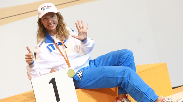 Valentina Vezzali will be looking for more medals at London 2012