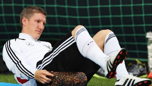 Bastian Schweinsteiger has been struggling with an ankle injury