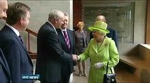 Broad welcome for handshake between Martin McGuinness and Britain's Queen Elizabeth