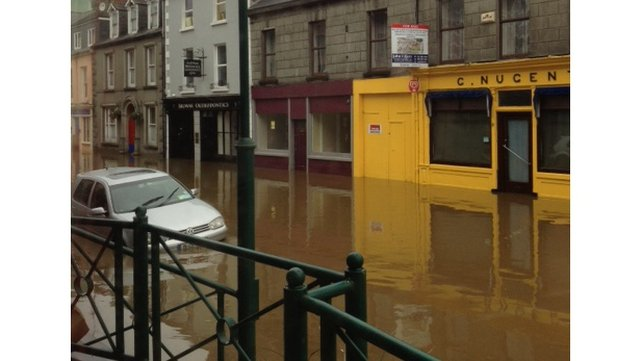 Flooding in Clonakilty (submitted by Jed via yourphotos@rte.ie)