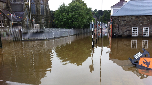 Flooding in Clonakilty, Cork (submitted by Jonathan McCarthy via yourphotos@rte.ie)