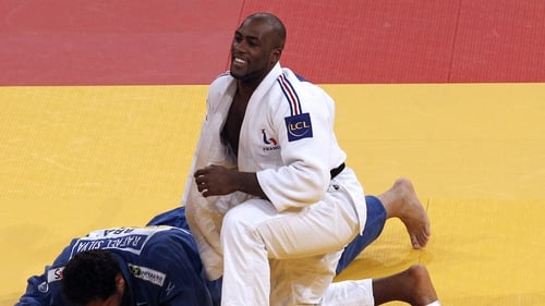 Teddy Riner aka Teddy Bear will take no prisoners this summer