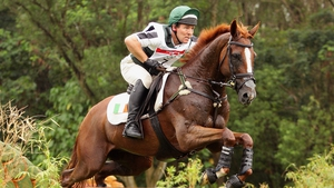 Austin O'Connor came 21st in equestrian on Hobby Du Mee