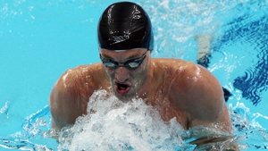Andrew Bree made the semi-finals of the 200m breaststroke, where he came 11th