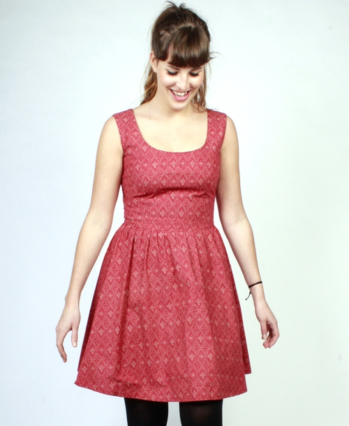 Tokiki Emma printed red cotton sundress, was €75 now €59