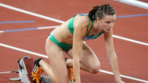 Michelle Carey came seventh in her 400m hurdles heat