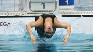 Aisling Cooney competed in the 100m backstroke