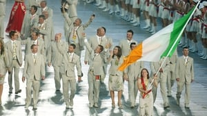 Sailor Ciara Peelo was Ireland's flagbearer at the opening ceremony