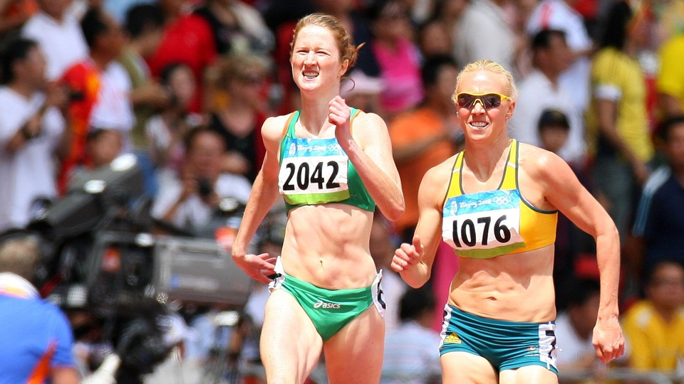 Joanne Cuddihy came sixth in her 400m heat