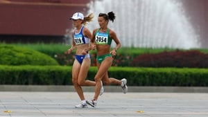 Pauline Curley came 63rd in the marathon