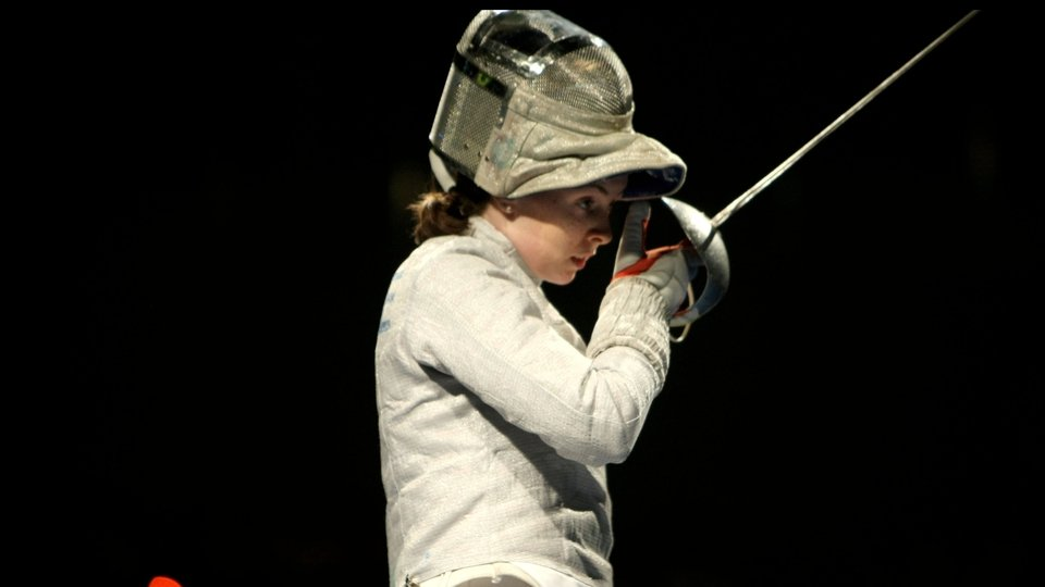 Siobhan Byrne represented Ireland in fencing in the individual sabre, but was beaten by Poland's Irena Wieckowska