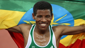 Haile Gebrselassie competed in the 10000m, but couldn't add a third gold to his 1996 and 2000 titles. He finished sixth