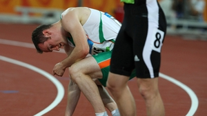 Paul Hession was visibly exhausted after his exit from the 200m at the semi-finals stage