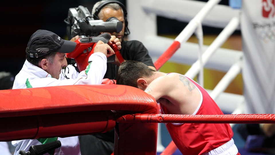John Joe Joyce reached the round of 16 in the ring, but went no further