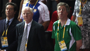 OCI president Pat Hickey and FAI CEO John Delaney had time for some bromance