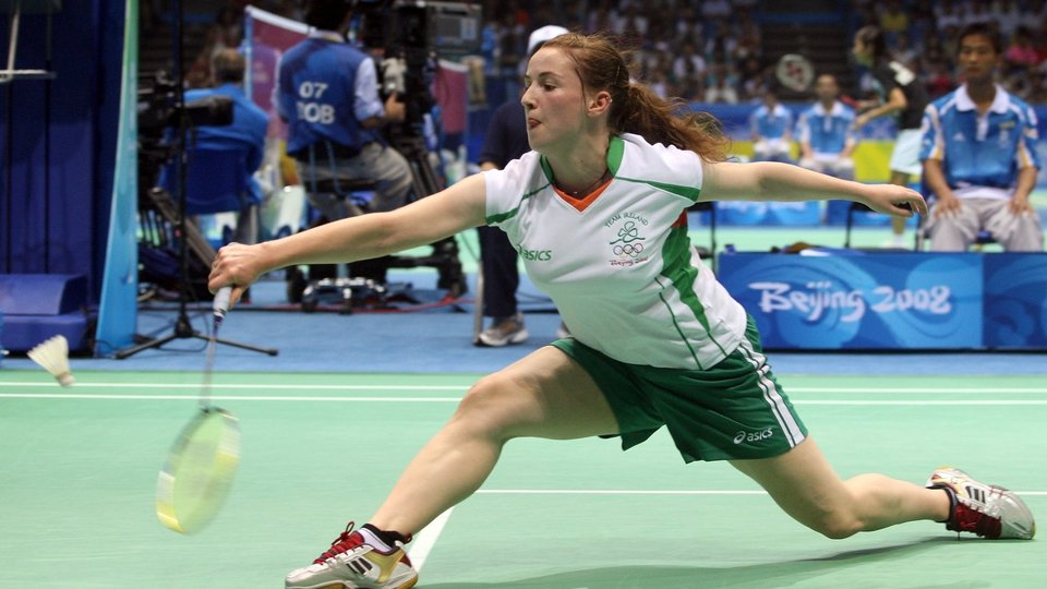 Chloe Magee reached the round of 32 in badminton
