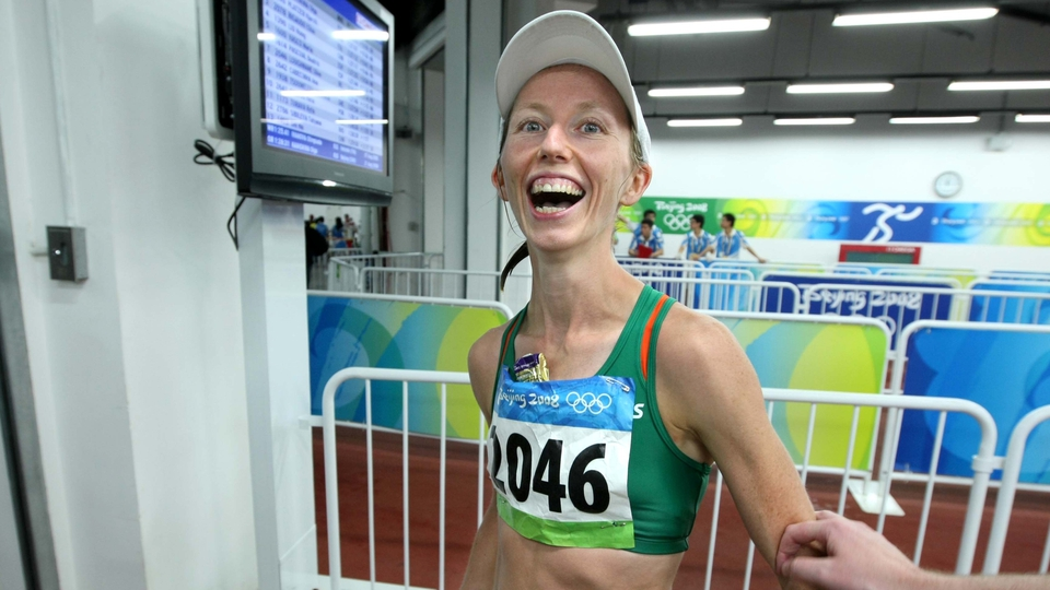 Olive Loughnane secured seventh place in the 20km walk