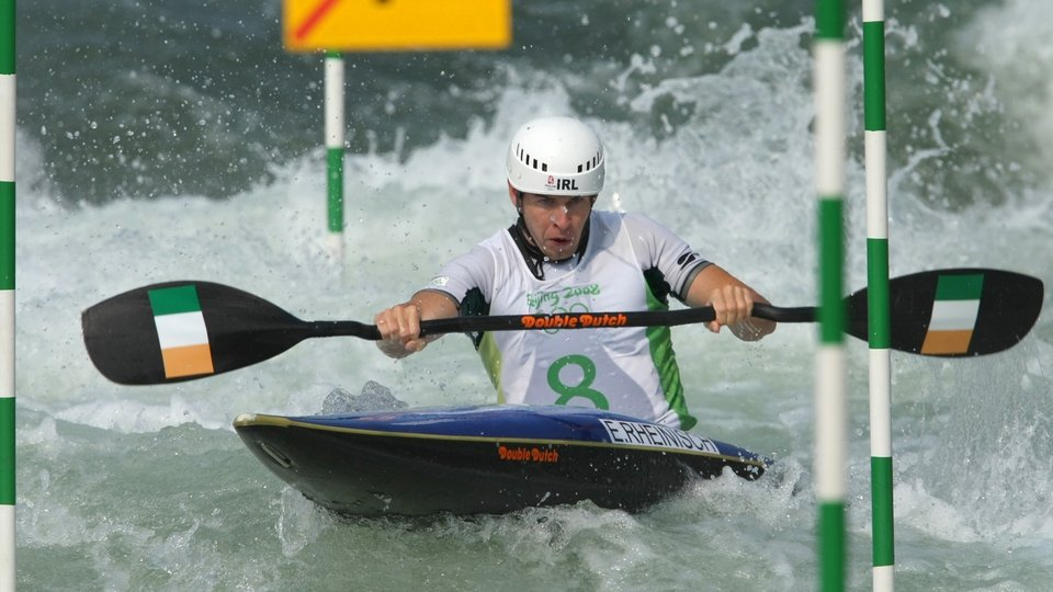 Eoin Rheinisch came so close to winning a medal. He came fourth in the K1 canoeing event