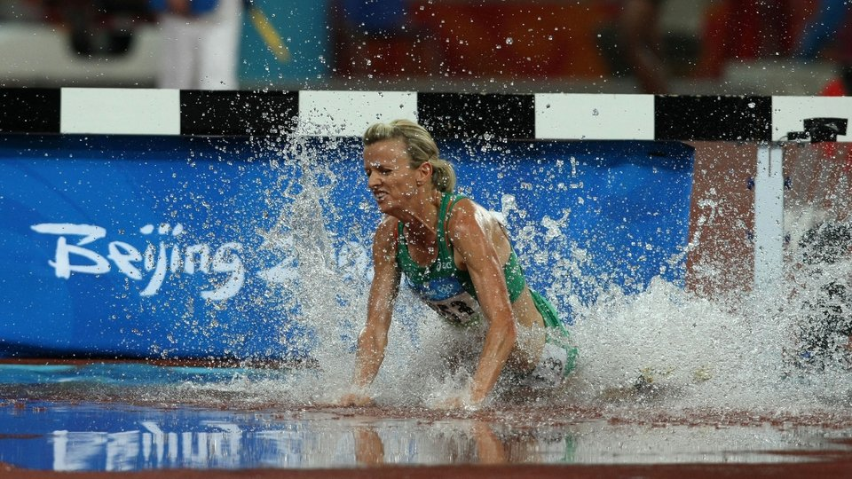 Roisin McGettigan came 14th in the 3000m steeplechase