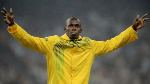 Usain Bolt was the star of the track...