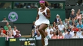 Sharapova and Williams advance at SW19