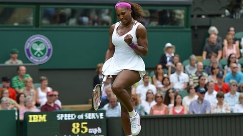 Williams' second-round victory was never in doubt