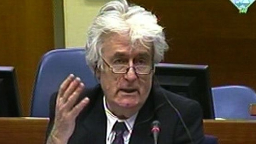 Radovan Karadzic was leader of the Bosnian Serb government during the three-year war that raged in Bosnia from 1992