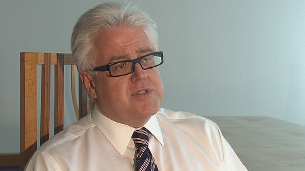 Ulster Bank CEO Jim Brown says that the bank does not have a policy of writing off mortgage debt