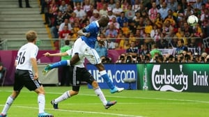 Super Mario headed the opening goal