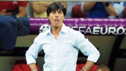 Joachim Loew looks to the future with Germany