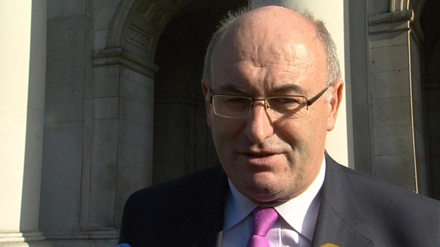 Phil Hogan said a packaging levy would have few environmental benefits
