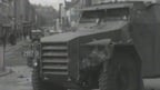Army Patrol in Derry on 14 July, 1969.