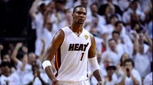 Chris Bosh won the NBA play-offs with the Miami Heat