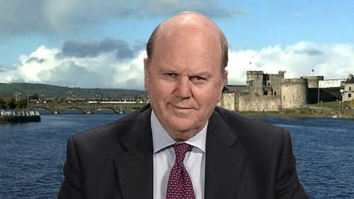 Michael Noonan said the deal will ease future Budgets