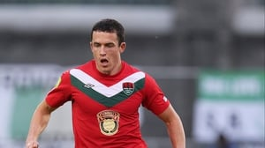 Tadhg Purcell scored on what could be his final game for Cork City