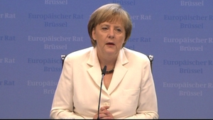 German Chancellor Angela Merkel remains popular due to her tough stance on the eurozone