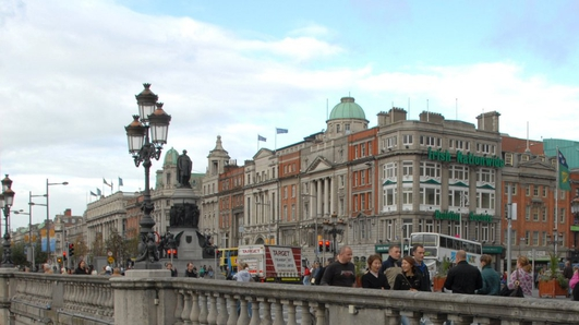 Do you feel safe on O'Connell Street?