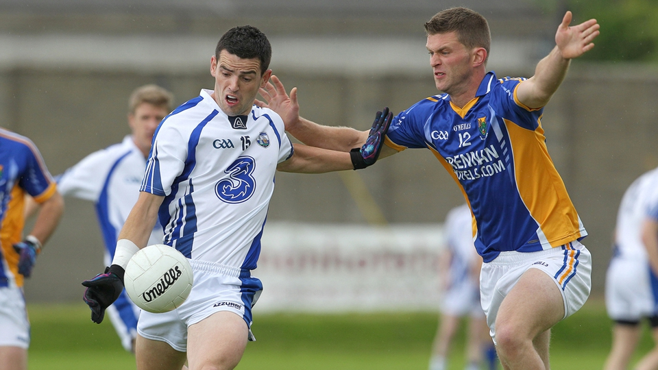 Wicklow's Rory Finn and JJ Hutchinson of Waterford