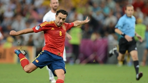 Xavi and Spain stand on the verge of greatness if they can get past the Italians in Kiev