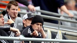 The Cavan man looks on during Kildare's loss to Meath in Croke Park