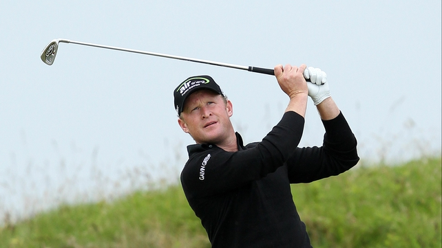 Jamie Donaldson has had to pull out of the PGA Championship with an injured back