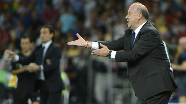 Del Bosque has masterminded another Spanish triumph