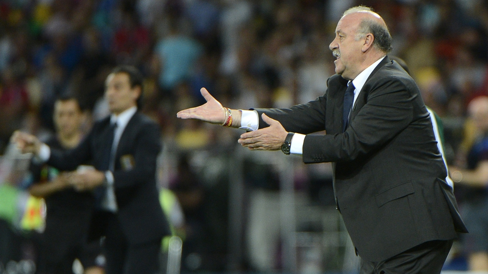 Vicente Del Bosque has orchestrated another Spanish masterclass