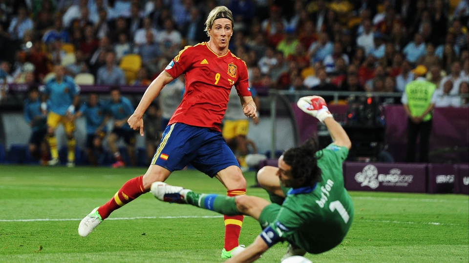 Fernando Torres scored again in a Euro final