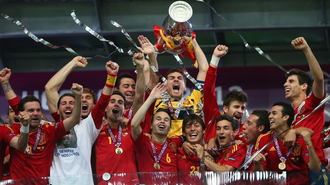 Euro 2012 and world champions Spain