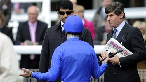 There was no joy for Saeed bin Suroor and Frankie Dettori in Italy as Sajjhaa finished fourth
