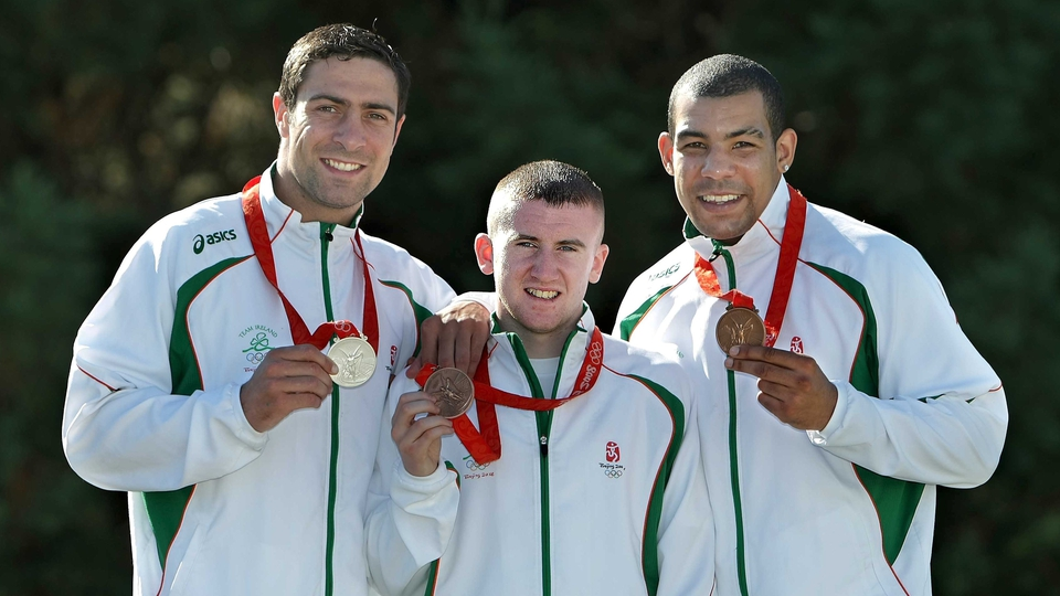 Ireland secured three medals at the Beijing Games. One silver, two bronze, courtesy of Kenneth Egan, Paddy Barnes and Darren Sutherland