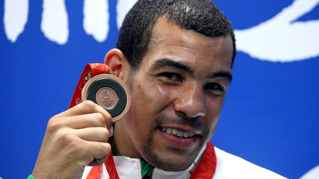 Darren Sutherland also secured bronze, with James DeGale stopping his march in Beijing
