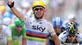 Cavendish sprints to stage win